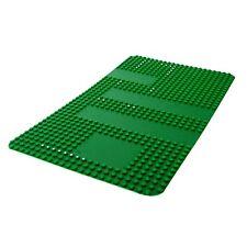 1 x Lego Bau Platte grün 24x40 Einfahrt Rasen mit Markierung Punkte 360 580 809