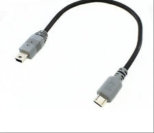 Micro macho a macho mini Host OTG Cable Cable Para Amplificador digital portátil DAC