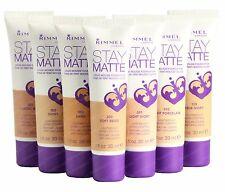 Rimmel London Stay Matte Liquid Mousse Foundation Makeup pick a shade