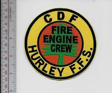 Hot Shot Wildland Fire Crew California CDF Hurley Forest Fire Station Engine Cre