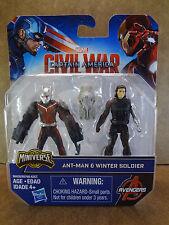Captain America: Civil War Miniverse Ant-Man & Winter Soldier