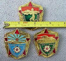 RUSSIAN ENAMEL PIN BADGE AWARD MILITARY FORCES AVIATION TANK RIFLE ORDER MEDAL