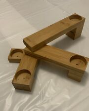 Wooden Tea Light Holders Candle Holders