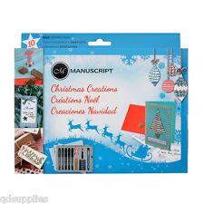 Manucsript Christmas Creations Calligraphy Sealing Card Making Gift Set MC170