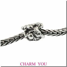 Authentic Trollbeads Sterling Silver 11268 Transition Man