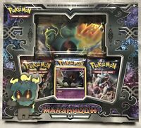 NEW Pokemon TCG Marshadow GX Box With 3 Booster Packs  and XL Promo Card