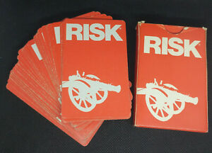 Complete Risk Board Game Replacement Cards