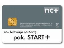 More details for pakiet start+ telewizja na karte nc+1 miesiąc zasilenie doladowanie doładowanie