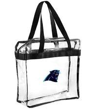 NFL Carolina Panthers clear zipper Massenger Bag Stadium Approved