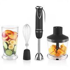 Hand Blender 6 Speeds 3 In 1 All-Rounder Household Chopper Blender Professional