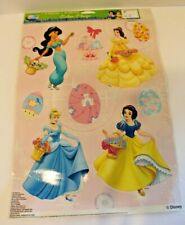 Disney Princess Color Window Clings 2010 Easter or Anytime Cinderella Snow White