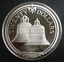ILES VIERGES BRITANNIQUES - 20 DOLLARS 1985 - Argent - N°12