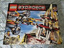 Lego 8107 Exo-Force Fight for the Golden Tower With Box