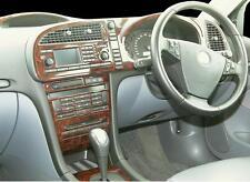 SAAB 9.3 93 9-3 ESTATE INTERIOR BURL WOOD DASH TRIM KIT SET 2003 2004 2005 2006
