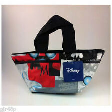 Disney Mickey Mouse Shopping Pocket Zip Up small carry Bag  with Purse Disney