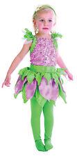 # HADA DEL BOSQUE Bonito Verde / LILA Disfraz de niño Cuento 2-4 AÑOS