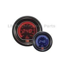 60mm Stealth Azul / Rojo Pantalla Lcd Digital Temperatura De Aceite Gauge Para Evo Subaru Nissan