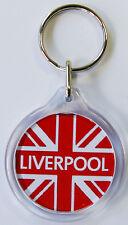 LIVERPOOL UNION JACK KEY RING Liverpool FC Key Ring L1