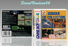 """Boitier du jeu """"KONAMI GB COLLECTION 1"""", Game Boy Color. FR. HD. SANS LE JEU."""