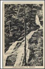 Tambach Dietharz Thüringen Postkarte 1927 am Spitterfall Wasserfall Waterfall