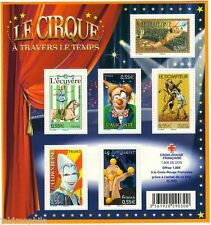 STAMP / TIMBRE FRANCE NEUF BLOC N° 121 ** PERSONNAGES CELEBRES / LE CIRQUE