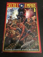 Secret Empire#1 Awesome Condition 7.5(2017) Double Cover