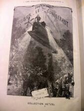 JULES VERNE HETZEL ROBUR LE CONQUERANT ORIENT VOYAGES EXTRA HACHETTE LIVRE BOOK