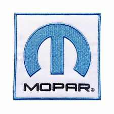 MOPAR LOGO IRON-ON PATCH Jeep, Dodge, Chrysler, SRT