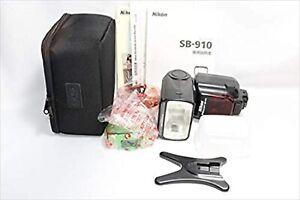 Used NIKON SB-910 Seedlight Flash For Nikon Camera Shipping from JAPAN