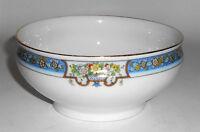 Thomas China Porcelain Trilby Floral w/Gold Blue Deep Bowl
