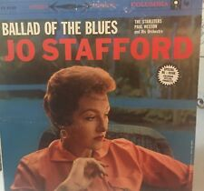 Jo Stafford Ballad Of The Blues Columbia Fidelity Special Issue CS 8139