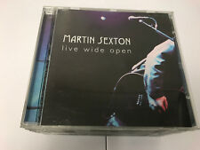 Live Wide Open Live Martin Sexton : 2 CD NR MINT 634457142022