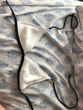 h&m bikini top white triangle size 4