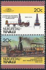 1830 Best Friend of Charleston (South Carolina) Train Stamps / LOCO 100
