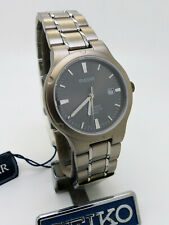 Pulsar PXD 977 SEIKO Titanium Quartz Sapphire Glass Wristwatch New