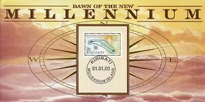 (86947) Kiribati Benham FDC Dawn of New Millennium 2000