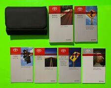New listing 2016 Toyota Rav4 Factory Owners Manual Set w/ Nav & Case *Oem*