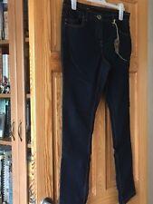 Dorothy Perkins Ladies Indigo Blue Full Length Skinny Leg Jeans UK Size 14 Short