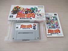 SUPER MARIO RPG NINTENDO SQUARESOFT SFC SUPER FAMICOM IMPORT CIB!