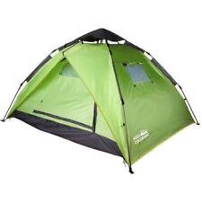 Tentes de camping dômes verts pour 3 personnes