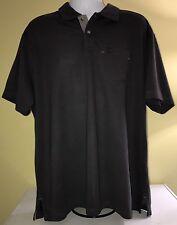 GH Bass & Co Mens Navy Blue Short Sleeve Polo Style Shirt Sz XXL