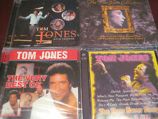 TOM JONES LEGEND COLLECTION OF 4 TITLES 7 CDS & 120 TRACKS LIMITED EDITION CDS