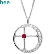 Diamond 925 Sterling Silver Destiny Pendant in Twilight 35255/CR