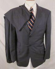Recent Ermenegildo Zegna TROFEO Gray Stripe Ticket Pocket Suit Size 38 Reg.