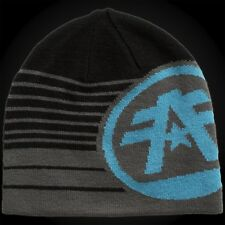 American Fighter by Affliction Beanie Cooper Black/Grey/Blue