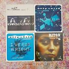 """Grand Central Records Rae Christian Riton Only Child Hip Hop Fat City 4X12"""" Lot"""