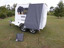 Premium Caravan Fridge / Window Shade 2.5M Charcoal Grey