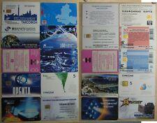 Set di 10 Schede telefoniche Russia assortite