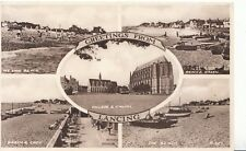 Sussex Postcard - Greetings from Lancing - Ref ZZ4018