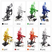 FXCNC Rearsets Footrest For HONDA CBR 125 250 300 500 600 900 954 1000 RR CB400